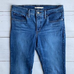 Levi's 315 Shaping Bootcut Medium Wash Jeans